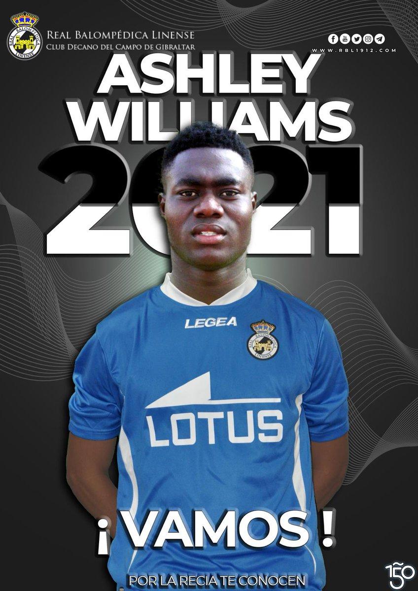 ✅⚽️🏃🏻♂️⚪️⚫️🔥🤩🧐🤝🤍🖤💎🧤🇱🇷 A la #RBL le satisface anunciar, q ha llegado a un acuerdo para la CONTRATACIÓN, cedido por un año con opción de compra, del PORTERO INTERNACIONAL LIBERIANO de 19 años, ASHLEY WILLIAMS, proveniente del Club Liberiano de Primera división @liscrfc1995