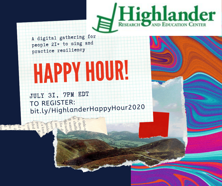 Tonights Highlander Happy Hour will lift up and celebrate the life and work of Rep. John Lewis - join us in stirring up some #goodtrouble at 7pm ET. Register at bit.ly/HighlanderHapp…