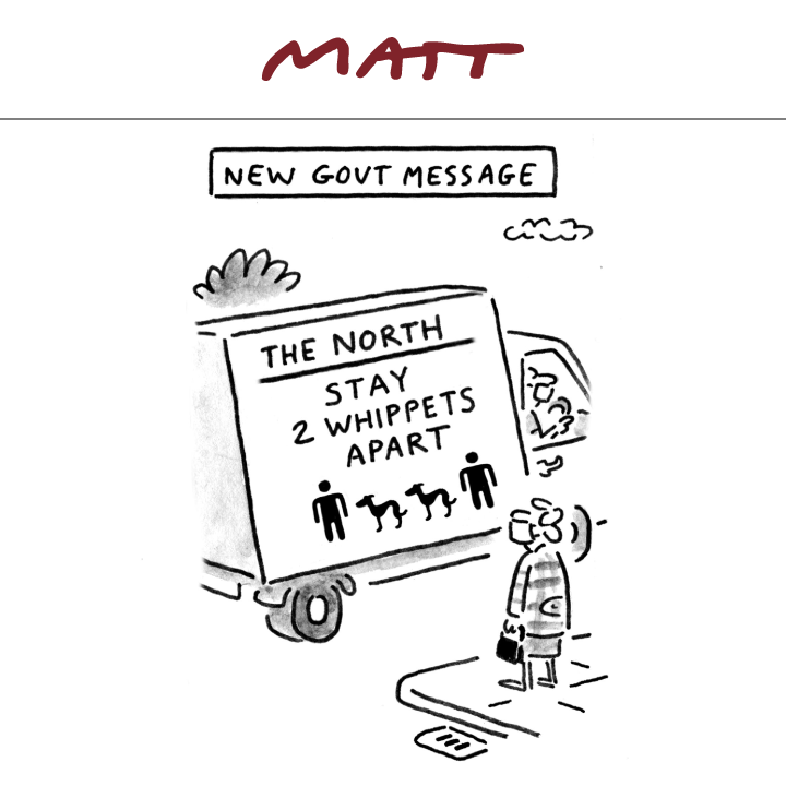 My latest cartoon for tomorrows @Telegraph Subscribe to my weekly newsletter to receive my unseen cartoons: telegraph.co.uk/premium/matt/?…