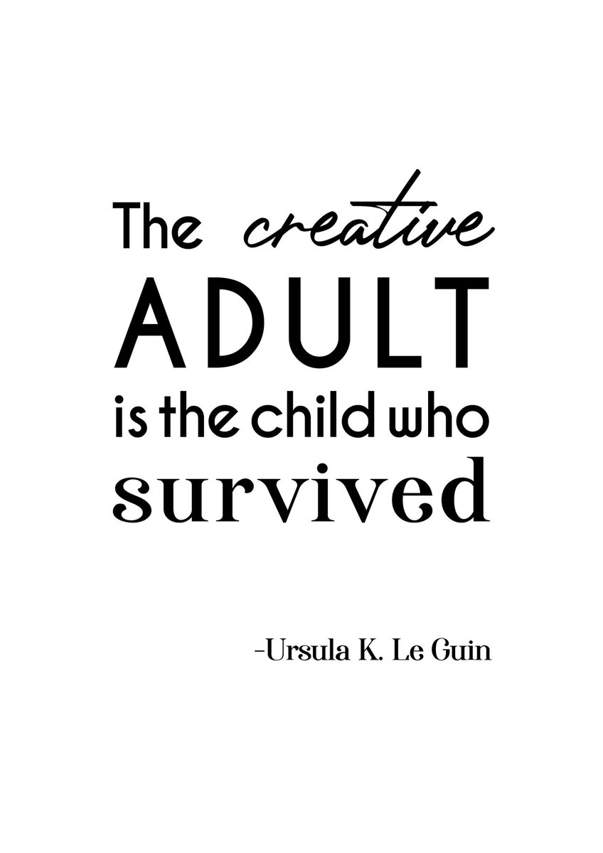 The creative adult is the child who survived #posterdesign #poster #quoteoftheday #quotes #qoute #artquotes #creativequote #Creative #typography #shawtypography #shawacademy #shawgraphicdesign #graphicdesigner #graphicdesignpic.twitter.com/RKXgtzHqkN