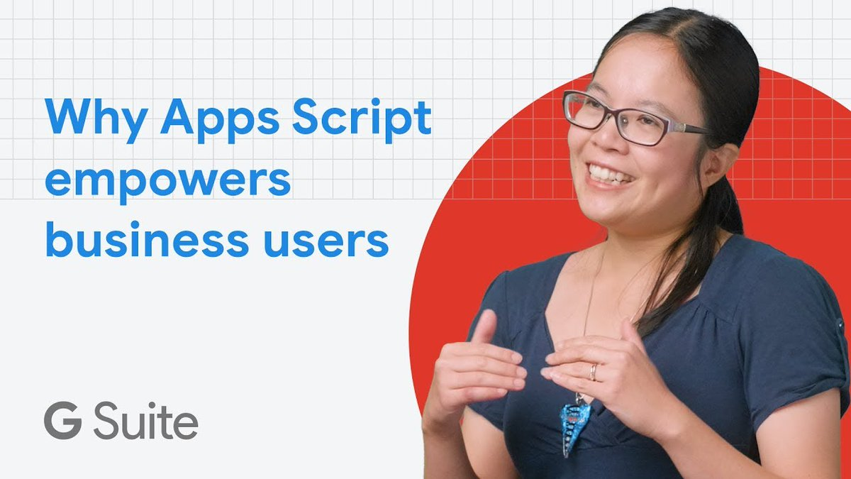Apps Script improves business processes and enables seamless project tracking. @CinFourThirds shares how she uses Apps Script in her work environment and some tips on how her team customizes it to fit their goals.   Hear all about it → https://t.co/3Kx6xlh5HQ https://t.co/1RKhZORndk