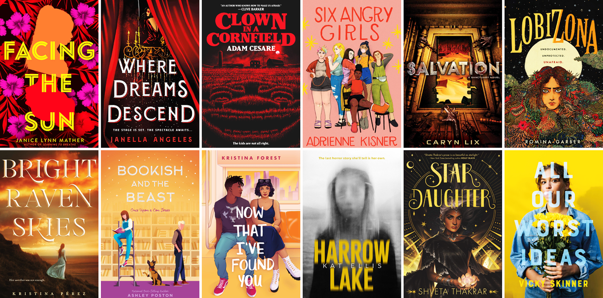 From alien attacks to creepy clowns, mock trial to a magical circus, travel to places and worlds unknown with the help of these 55 exciting new YA books being published in August 2020! popgoesthereader.com/hot-off-the-pr…