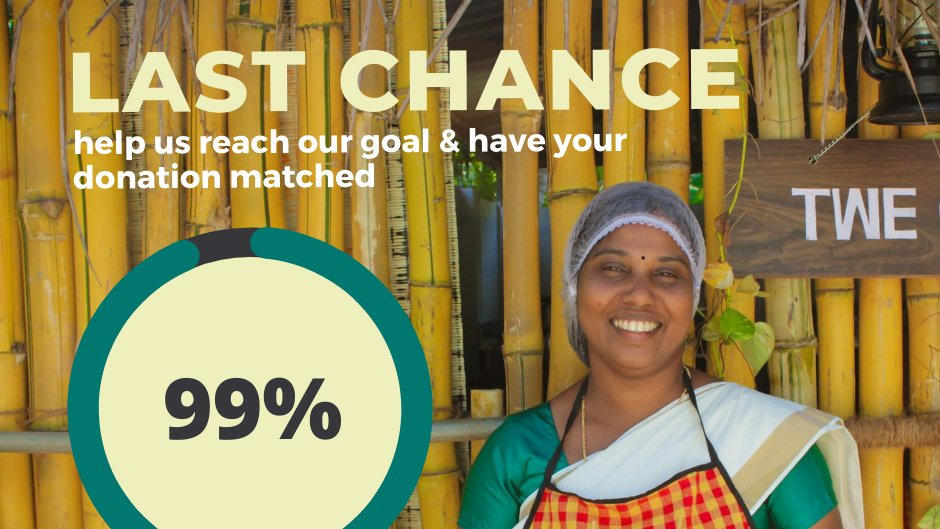 We are just $1,090 away from reaching our $75,000 goal for our Turn Travel Into Impact from Home campaign! Donations are still being matched by our founder  @brucepoontip which means if we reach this goal, $100,000 will have been raised for COVID-19 relief for our partners! https://t.co/nA5DL1w4g2