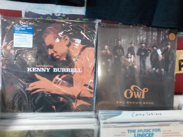 Happy Birthday to Kenny Burrell & Zac Brown