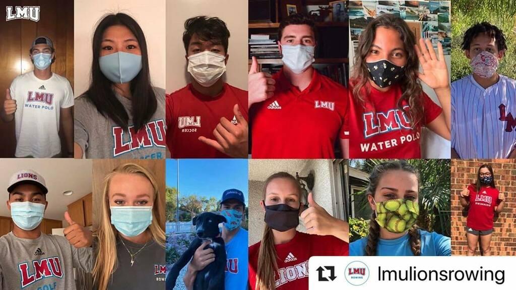 🔁Repost @lmulionsrowing ・・・ We all want Lion sports seasons, so stay healthy #LMU, and #WearAMask! #UniteThePride 🦁 instagr.am/p/CDUJ9X1gKpj/
