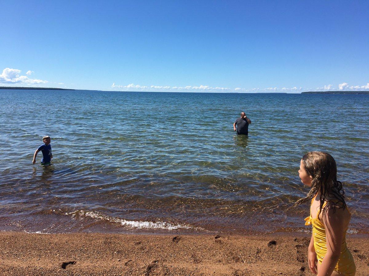 @LakeSuperior is nice today! #BatchewanaBay