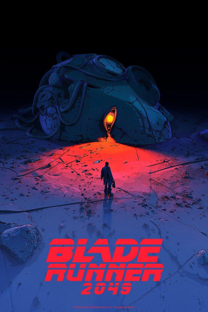 Blue or Orange? Never could decide.. #bladerunner #poster pic.twitter.com/T58cwkXH3P