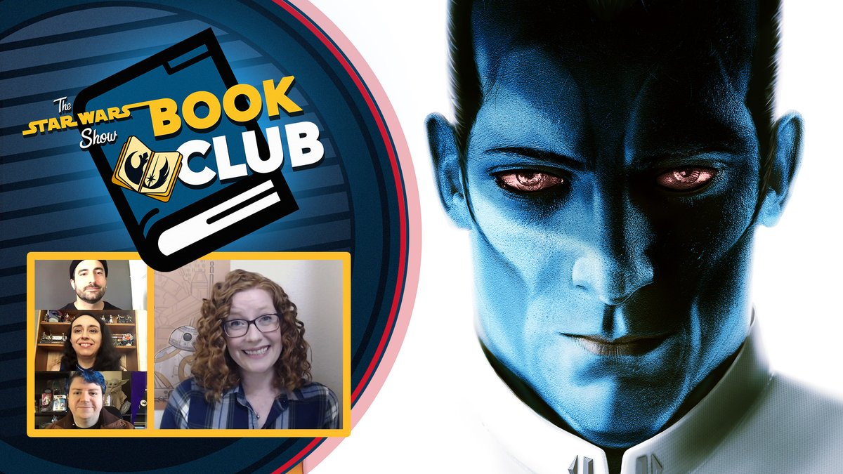 This week on the Star Wars Show Book Club: we discuss the novel Thrawn. Plus, author Timothy Zahn stops by to answer your questions! Watch today's #SWSBookClub episode now: strw.rs/6003GdjOZ