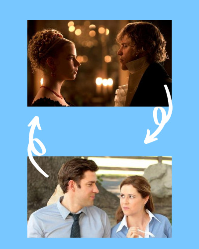 Perfect Pairings: Classic Literature Couples and Sitcom Couples frolic.media/perfect-pairin…