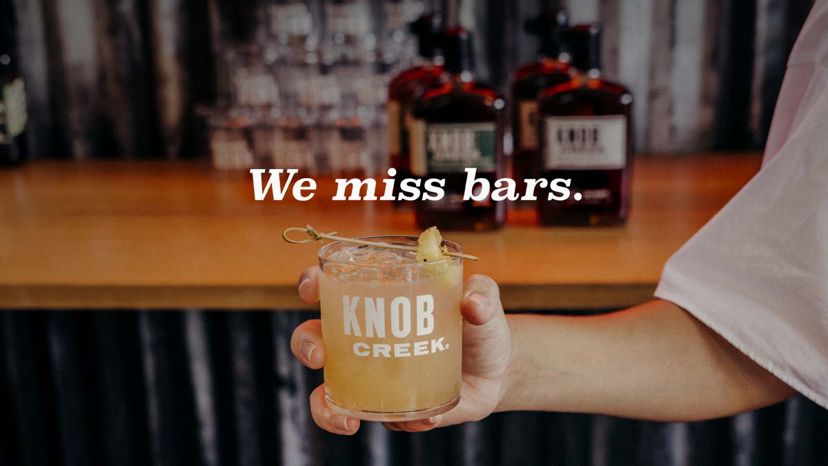 For months we've poured our own drinks, cut our own garnishes, and separated our own egg whites. We've missed you. But as bourbon makers, we know nothing good comes quickly. So for the safety of all of us, we'll be our own bartenders for just a little bit longer. https://t.co/SVRCG02YqM