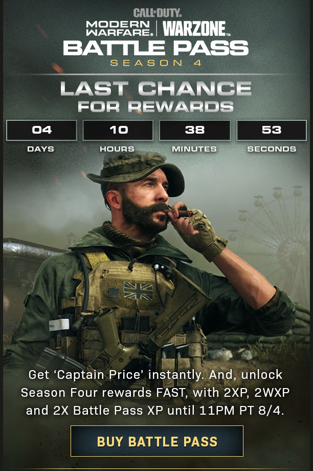 Call Of Duty News On Twitter Activision Promotional Email