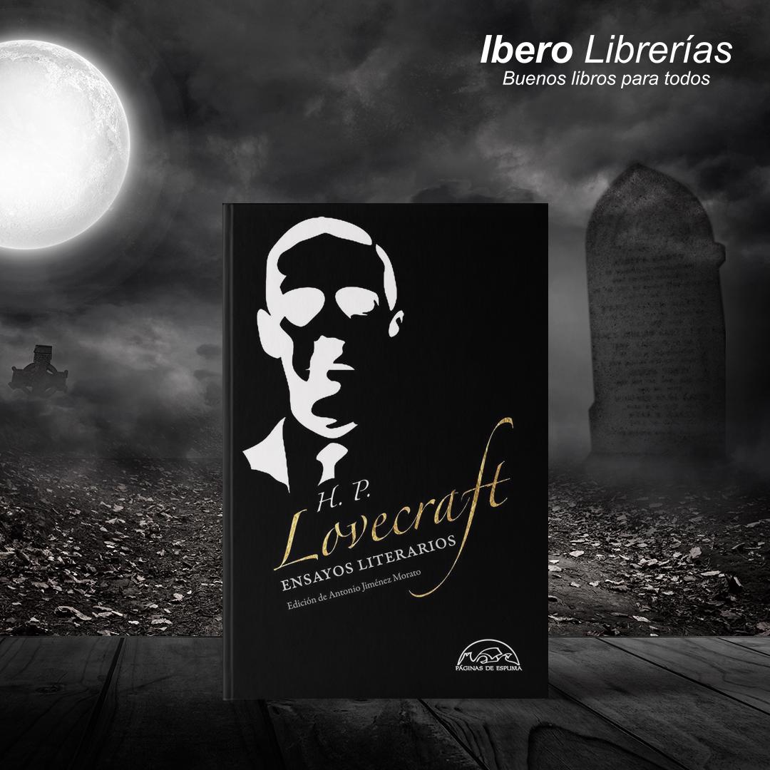 """#YoLeoEnCasa Para estos tiempos les recomendamos """"Ensayos literarios Lovecraft"""". Todo un nuevo mundo por descubrir de uno de los mayores escritores de terror del siglo xx. Precio: S/81.00 https://t.co/CNVxkaGSOF"""