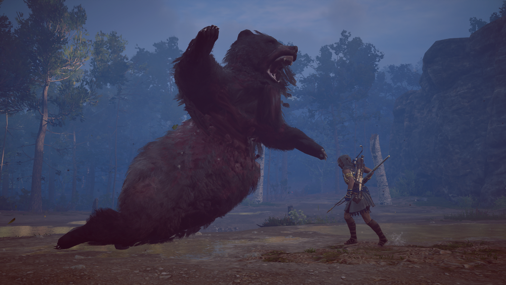 The battle between Kassandra and Kallisto the Bear was...you could say...legendary. . #AssassinsCreedOdyssey #AssassinsCreedOdysseyPhotoMode #AssassinsCreed #KassandraTheEagleBearer #gamingpics #UbisoftGames pic.twitter.com/rVQG3CnNQg