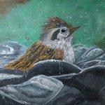 Image for the Tweet beginning: CaFÉ artist Mechel Bell created