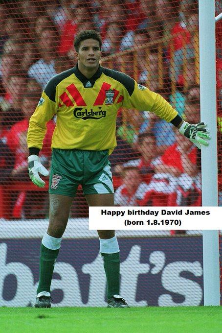 Happy birthday... David James(born 1.8.1970) Iago Aspas(born 1.8.1987) Mark Wright(born 1.8.1963)