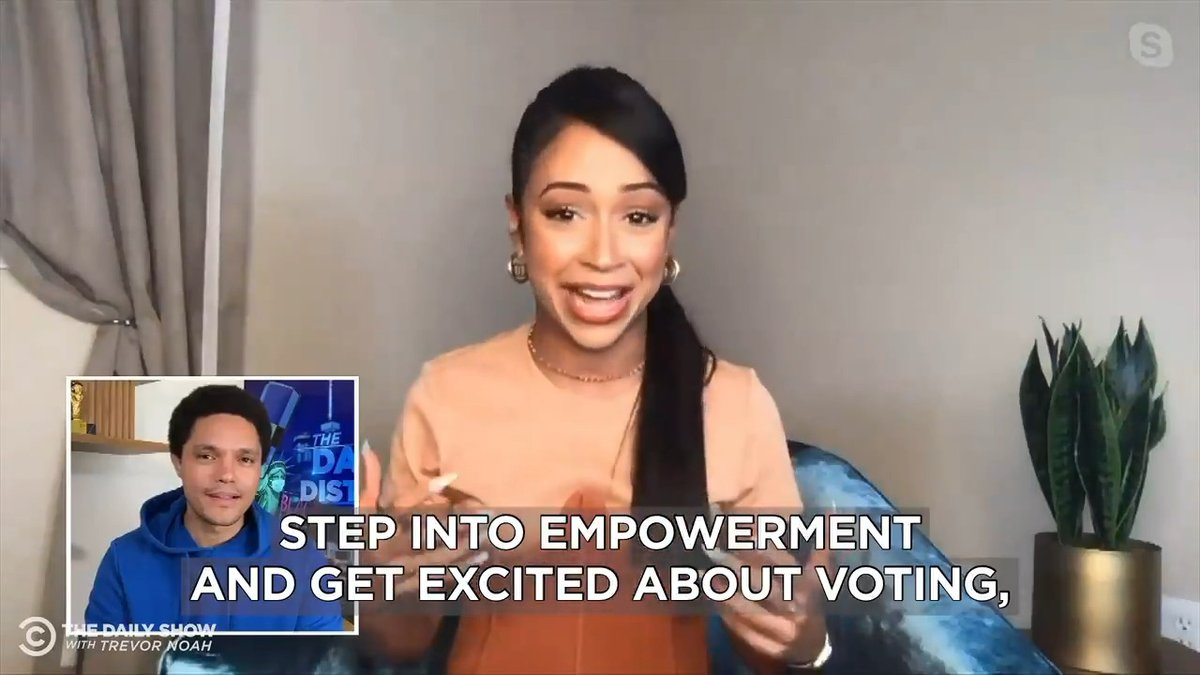 Why @LizaKoshy is pumped to be a part of Michelle Obama's @WhenWeAllVote campaign: