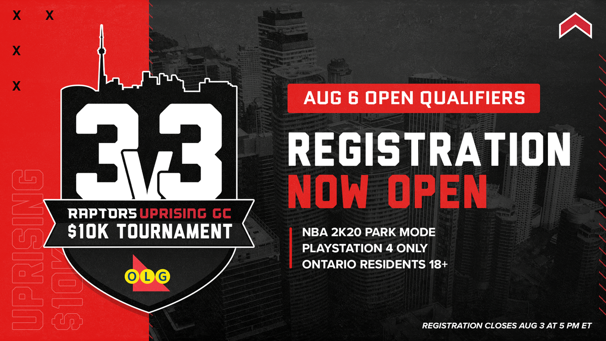 Grab your squad and get ready to hoop in the Open Qualifiers.  Top teams earn a spot in the $10,000 Finals presented by @OntarioLottery featuring celebrity guests!  📝 Register now » https://t.co/BCHVQEpaas https://t.co/YCtrKlylrp