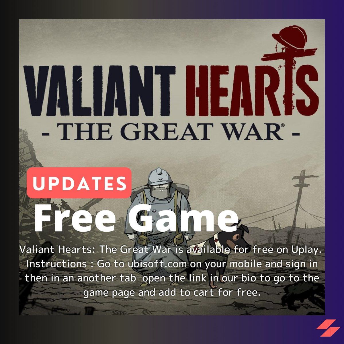 Free Game Valiant Hearts - The Great War   https://store.ubi.com/cn/game?pid=56c4948d88a7e300458b4890&dwvar_56c4948d88a7e300458b4890 …  #freegame #ubisoft #ubisoftgames #uplay #freetograb #game #gamer #gamingpic.twitter.com/vBMf3wm8vy