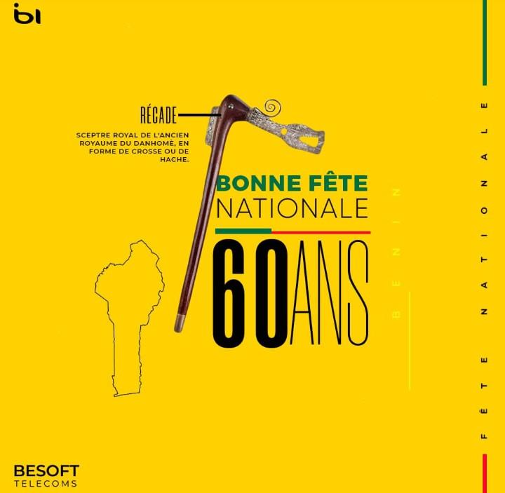Bonne fête national à mes frères Beninois. #Benin2020  #BeninNumerique https://t.co/npzGDiGRo3