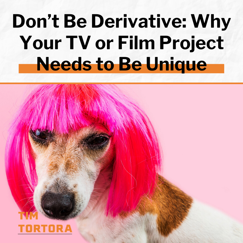 If you want your work to be seen (and eventually bought) you have to come with an original idea. Derivative work, from young creatives, winds up in the scrap heap of bad ideas and the irrelevant.   Read more here: https://timtortora.com/dont-be-derivative-why-your-tv-or-film-project-needs-to-be-unique/ …  #filmproducers pic.twitter.com/kynvfbqrwY