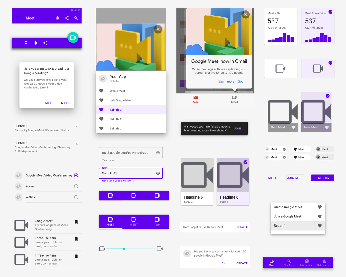 I'm really excited about Google's new design system: 'Meeterial Design'