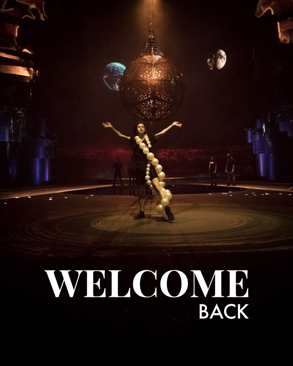 Welcome Back La Perle 🙌  We're so excited to see you return to the stage! https://t.co/GqtDEehFbz
