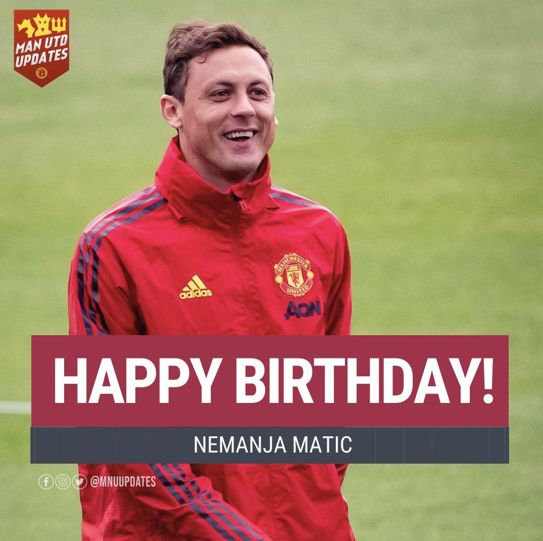 Happy 32nd birthday to Nemanja Matic.