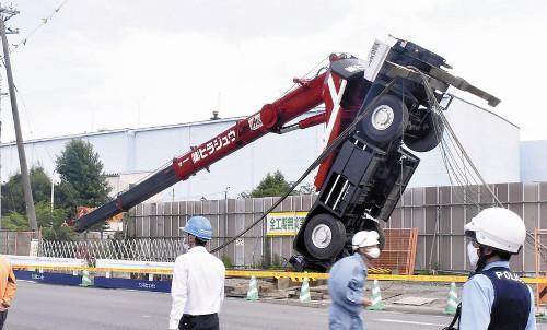 事故 クレーン