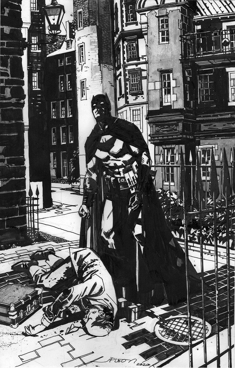 Batman inherits another murder —-