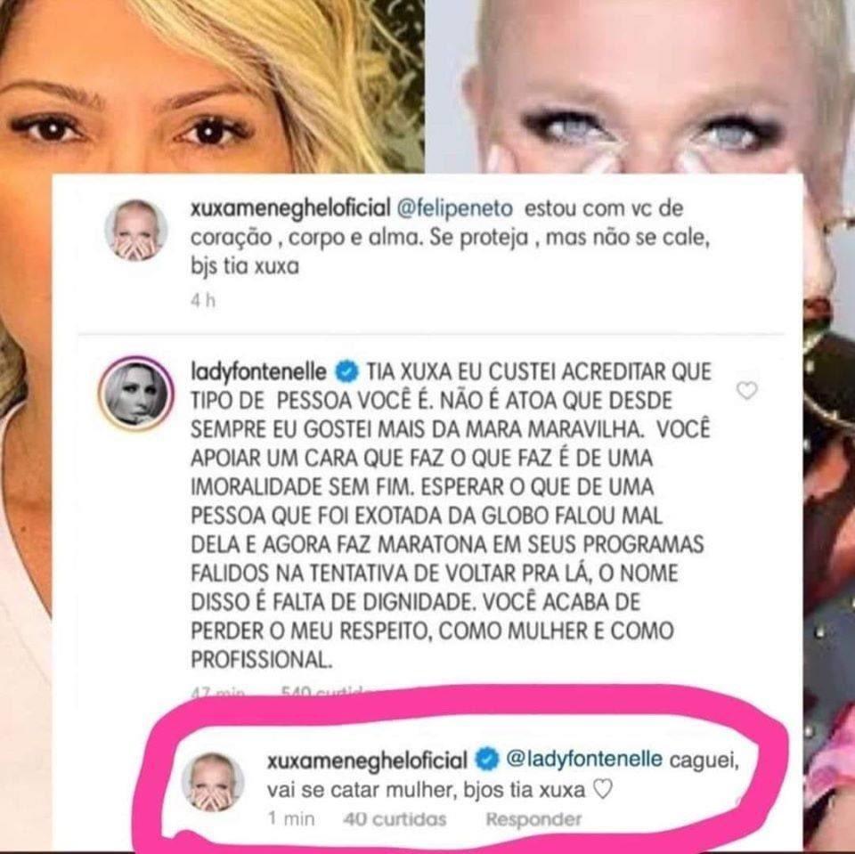 Xuxa respondeu HAHAHAHA https://t.co/EQOqUFyXpz