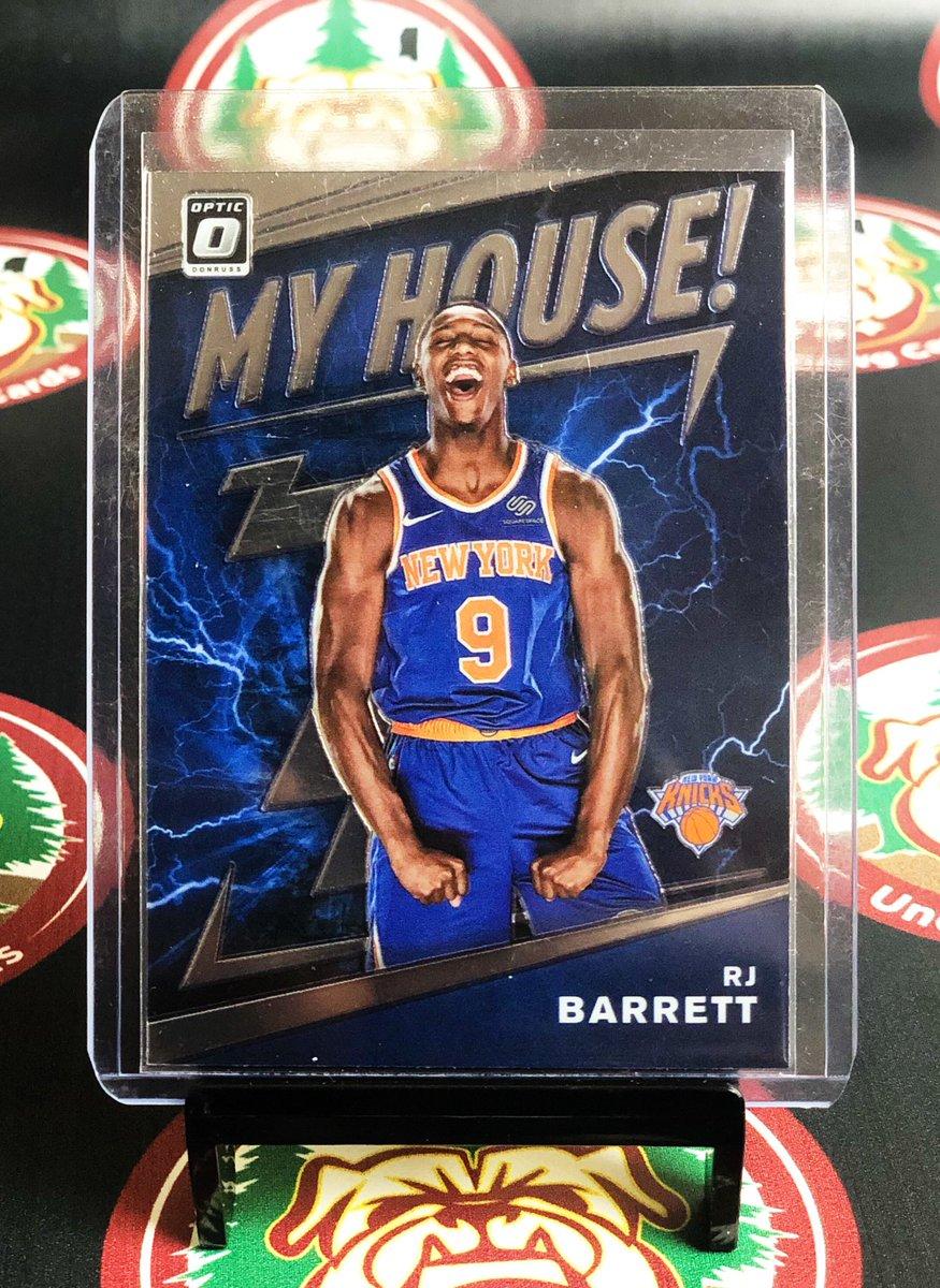 🏀 @RjBarrett6 @nyknicks 🏀 - 2019-20 @PaniniAmerica Donruss Optic - My House - Rookie Card - $4.00 Shipped PWE  - @HobbyConnector  @Hobby_Connect  - #RJBarrett #NewYorkKnicks #Knicks #NewYork #PaniniDonrussOptic #Panini #Donruss #Optic #MyHouse #Duke #DukeUniversity https://t.co/hLxYWGZuMI