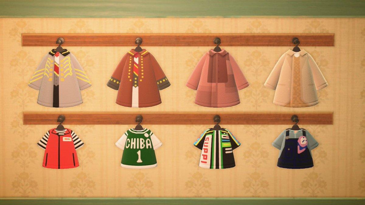 相葉くんのお洋服とマーク各色投稿しました。ご自由にどうぞ💚作者ID MA-9620-0719-8826#相葉雅紀 #嵐 #どうぶつの森 #マイデザイン