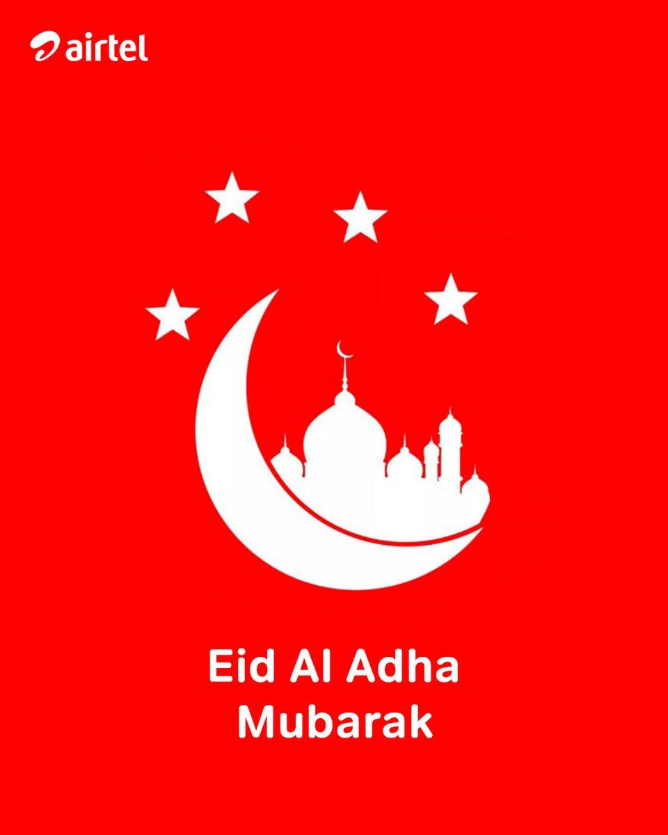 Happy Eid Al Adha to all our muslim friends 🙂 . #EidMubarak #AirtelLife https://t.co/wXf5boTXQI