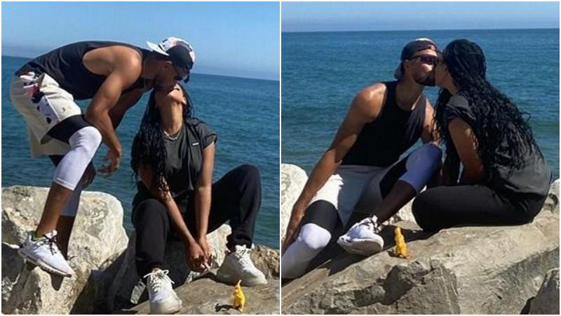 勇士無緣NBA復賽,Curry海邊熱吻妻子,兩人結婚九週年大秀恩愛!