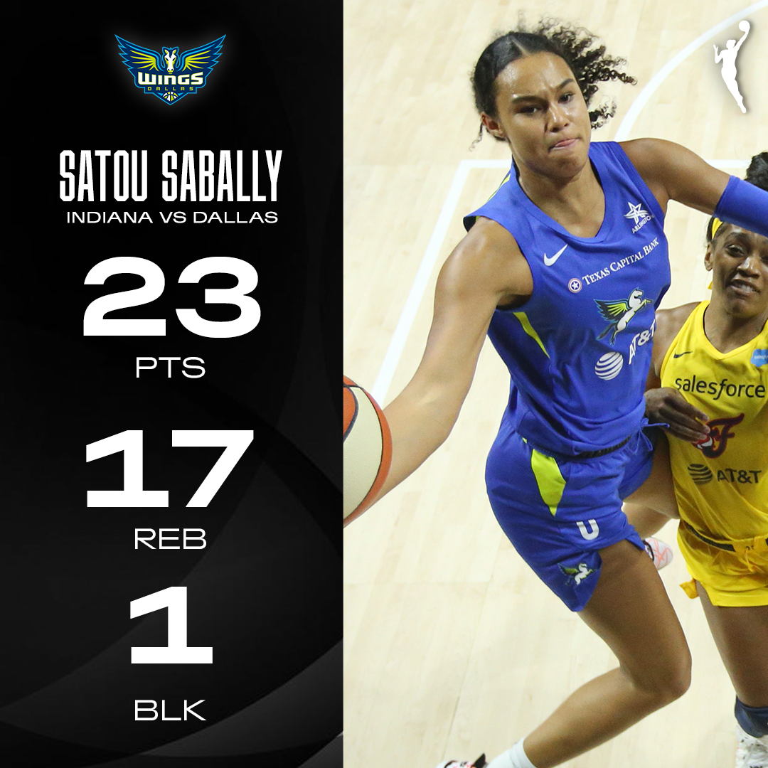 HUGE double-double and clutch plays at the end for @satou_sabally! #ATTtipoff https://t.co/k09L6aVdvJ