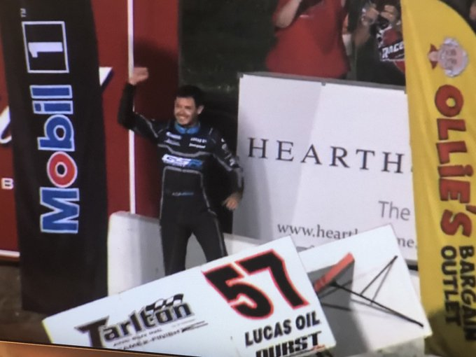 Guess what - Kyle Larson wins again - Happy Birthday