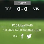 Image for the Tweet beginning: Tänään suuntana Turku @TPS_P05 vs