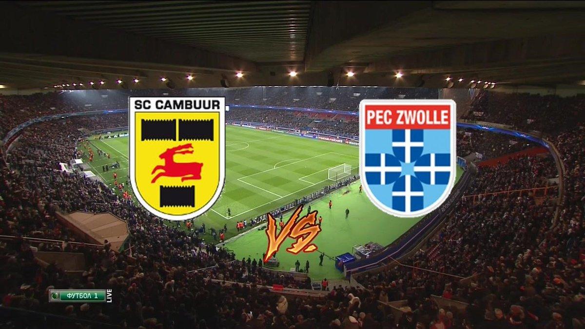 Live Stream Sc Cambuur V Pec Zwolle Live Football
