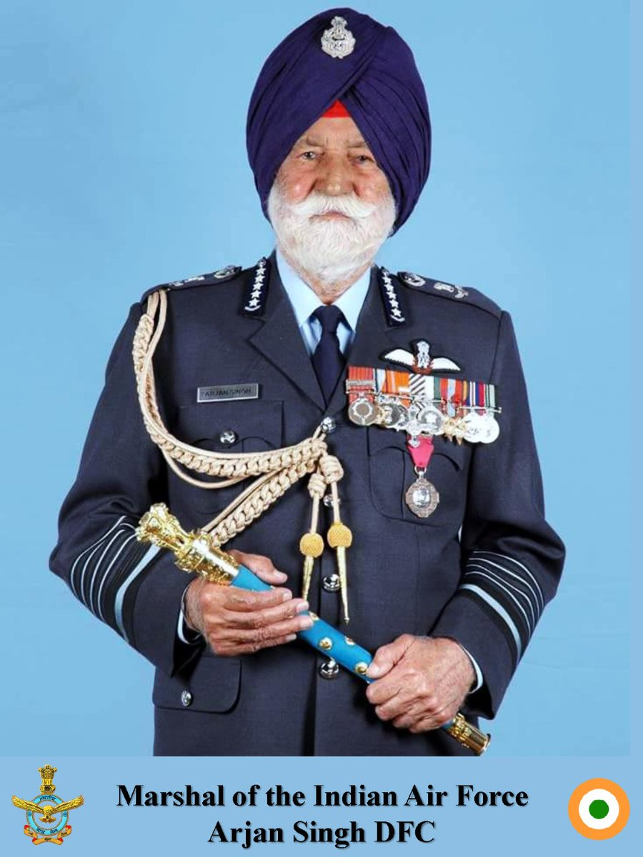 #YearsBack #OnThisDay #IAF: On 01 August 1964, MIAF Arjan Singh was appointed Chief of the Air Staff in the rank of Air Marshal at a young age of 45. He subsequently became the first IAF officer to become Air Chief Marshal and later the Marshal of the Indian Air Force (MIAF).