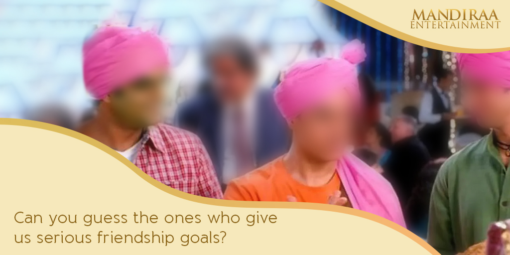 Celebrate your friendship this entire weekend with our exciting trivia on some of the most iconic Bollywood friendships that have stayed with us! Can you guess them all? #MandiraaEnteertainment #FriendshipDay #HappyFriendshipDay
