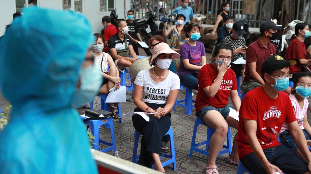 Covid-19: Việt Nam ghi nhận ca tử vong thứ 3 và nhiều ca nhiễm mới ở Đà Nẵng https://t.co/XztreWen6X https://t.co/sDwjRZqyc1