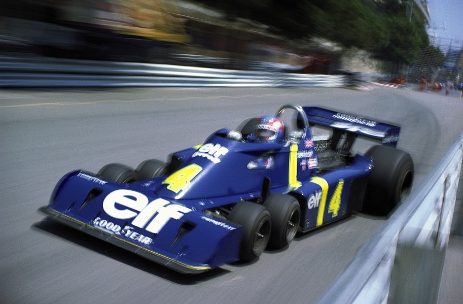 Can it be 40 years since we lost Patrick Depailler? Yes, it was #OnThisDay in '80, at a Hockenheim test, that his Alfa flew over the guardrail at the Ostkurve, & that was that. But I prefer to remember him in a 6-wheel Tyrrell, absolutely flat-out. Pic by Rainer Schlegelmilch. https://t.co/XMbyaSuxcL