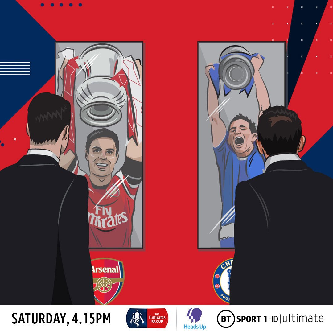 The Beeb and @GaryLineker will do a great job as ever today.👍🏻  However, the Cup Final is also live on @btsport, we offer something different, and we have a cracking trio of @Persie_Official @rioferdy5 and Joe Cole lined up. 👌  Give it a try..? https://t.co/P4XCSxLwJm