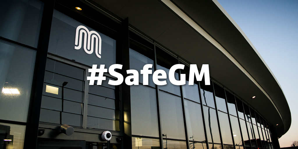 If youre travelling on public transport, treat everyone with respect and help keep us all safe. Dont challenge other passengers who may be unable to wear a #facecovering for hidden medical reasons or staff who may be exempt from wearing one because of their role. #SafeGM
