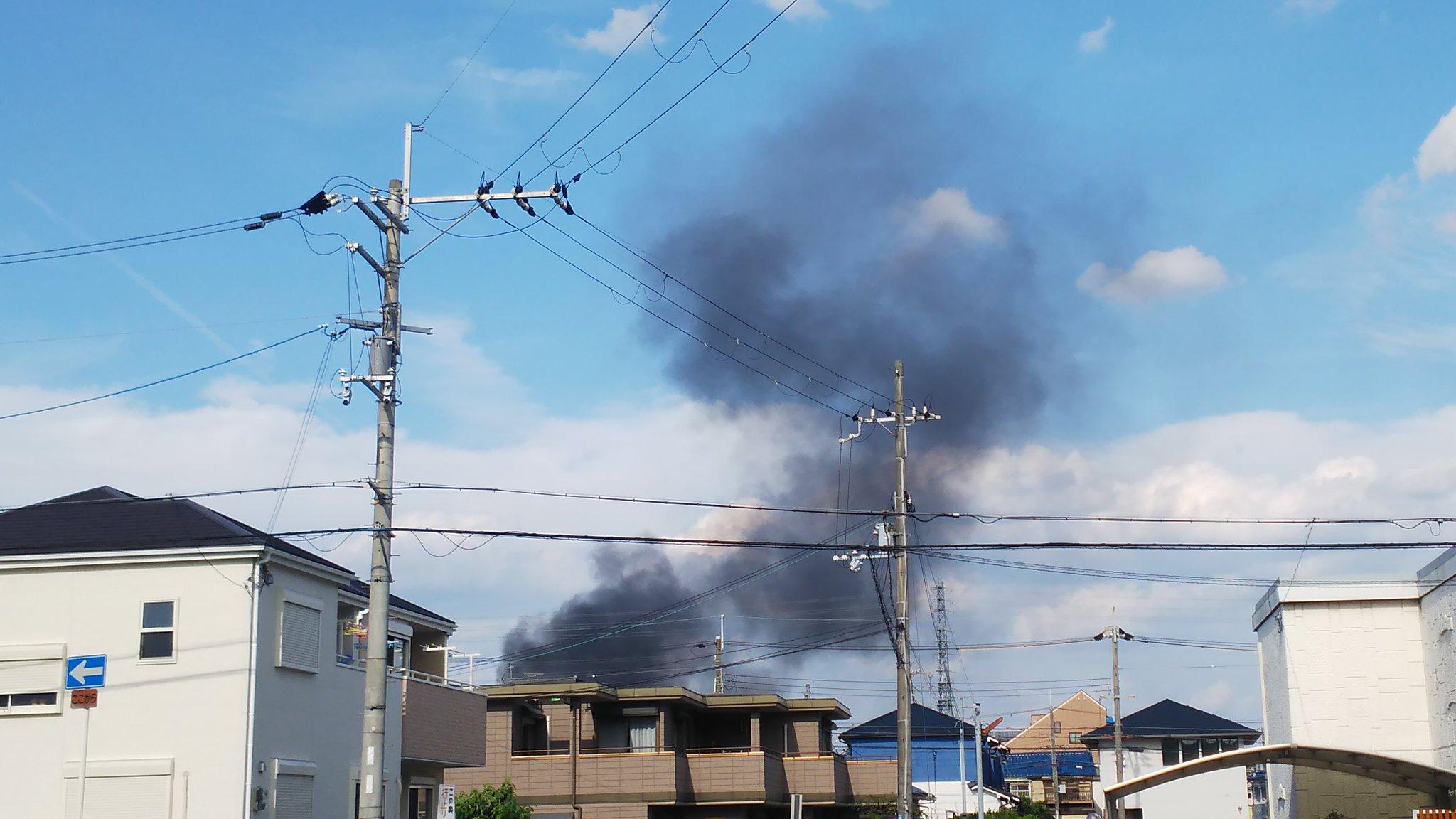 画像,火事だ!!#大阪府#茨木市#火事 https://t.co/ifHccv8pbN。