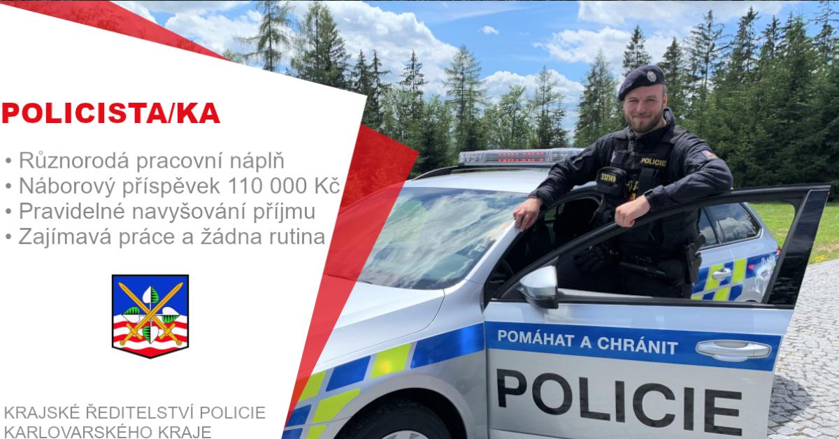 #nabidkaprace #sokolov #sokolovsko #plnyuvazek  Hledáš nové #zaměstnání? Využij #příležitost a přidej se k nám, hledáme kolegy pro okres Sokolov. Staň se #policistou a buď součástí naší velké rodiny. 🌐 https://t.co/9iD13SAcAw   #job #jobs #prace #novaprace #newjob #policiecr https://t.co/dJmEnDKHWl