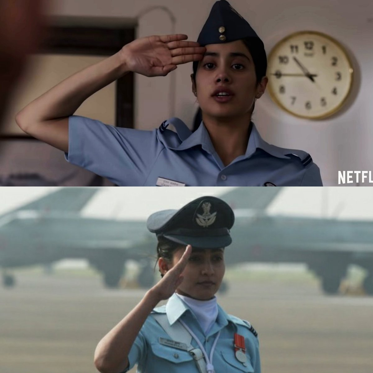 Vaibhav Singh Chauhan On Twitter Atleast She Should Have Worked On The Salute Gunjan Saxena Truly Deserved Someone Better Here Jhanvikapoor Gunjansaxena Reelvsreal Https T Co 5vp3xzoktv