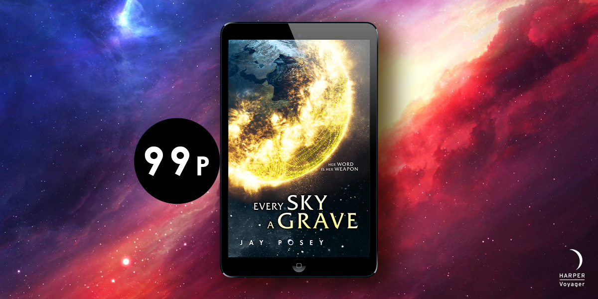 In this world, language is literally power. Peace and order reigns. But what if everything is a lie? Get #EverySkyAGrave for just 99p in the Kindle Summer Sale 🪐smarturl.it/EverySkyAGrave… #StartYourVoyage