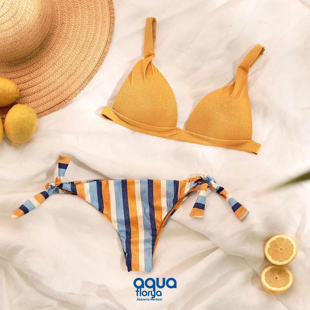 Şimdi plajlarda Calzedonia vakti! Tatilinizi renklendirecek bikini takımları #AquaFlorya #Calzedonia mağazasında. https://t.co/5KKPYJl6r1