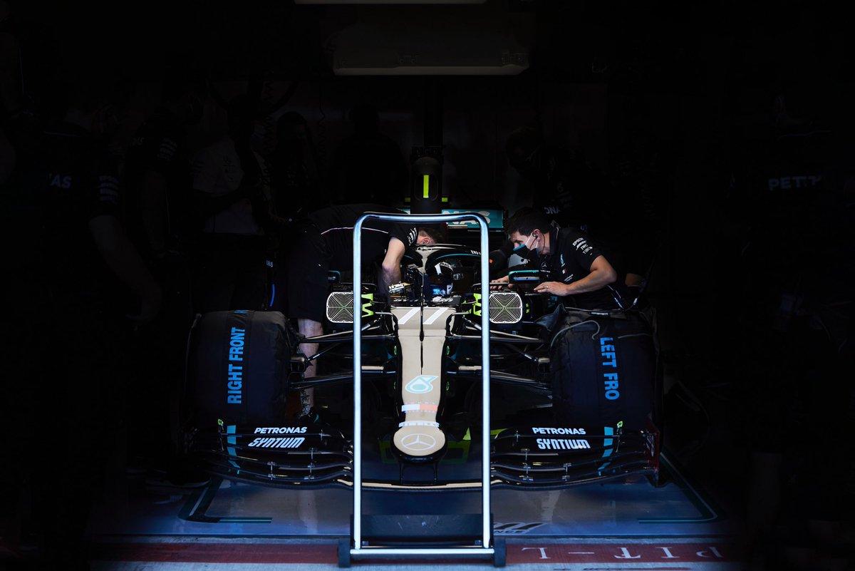 Quali day 🇬🇧🏁  #VB77 #F1 #BritishGP @MercedesAMGF1 📸 Etherington https://t.co/nAOGOnS80k